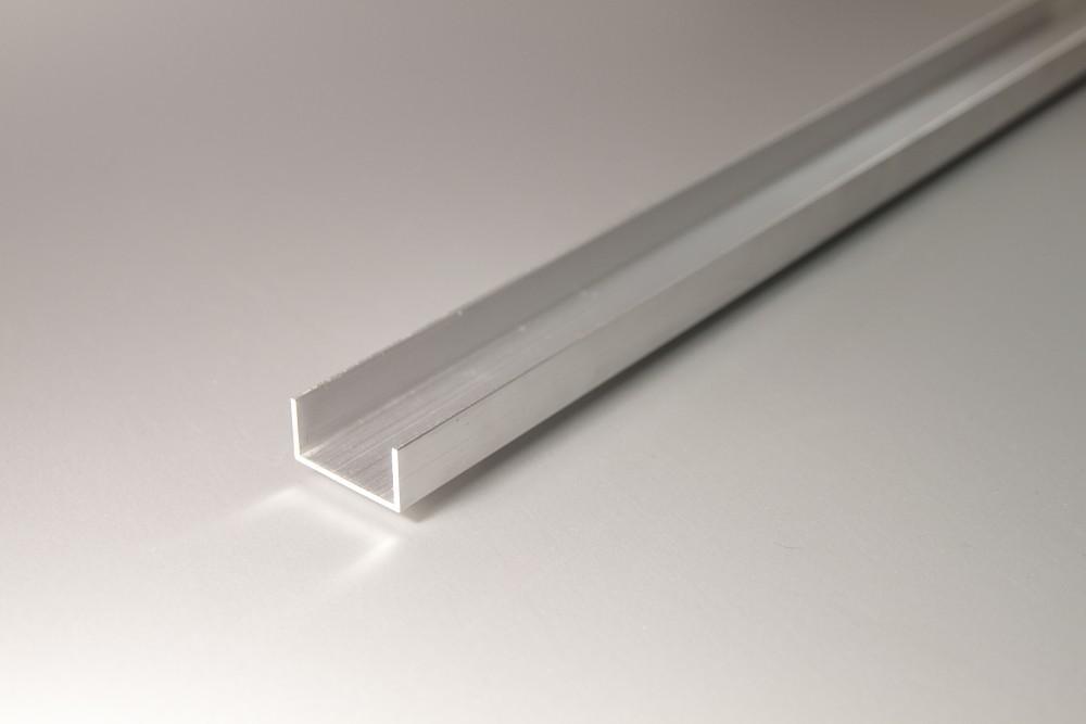 Perfil de aluminio ues lados desiguales